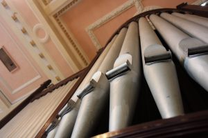 Organ at Sacred Heart Church, Limerick LPOF Launch, 14th May 2016 Photo: Aoife Daly