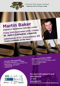 Limerick Pipe Organ - Martin Baker